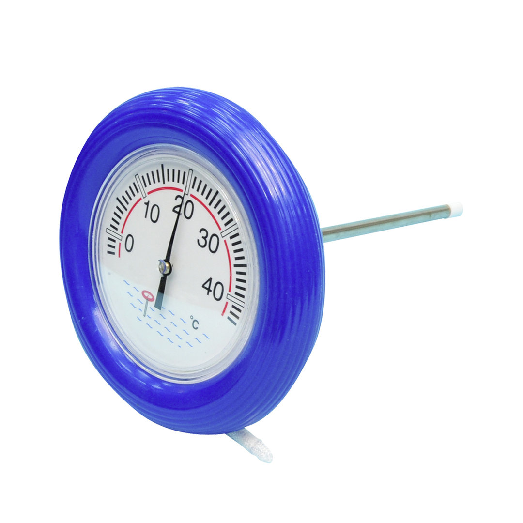 Pool thermometer smart rund 19cm im bavchem shop in haag for Schwimmbadthermometer
