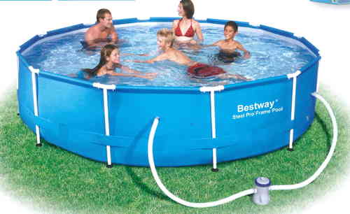 bestway pool g nstig online im bavaria sauna pool shop haag. Black Bedroom Furniture Sets. Home Design Ideas