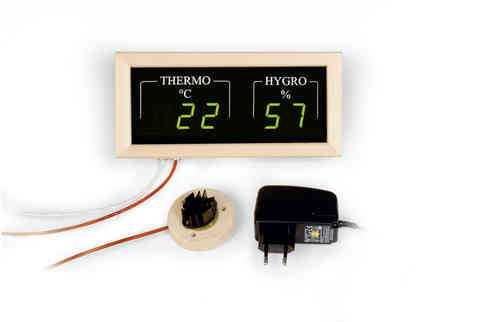 digitales Sauna Hygro-Thermometer
