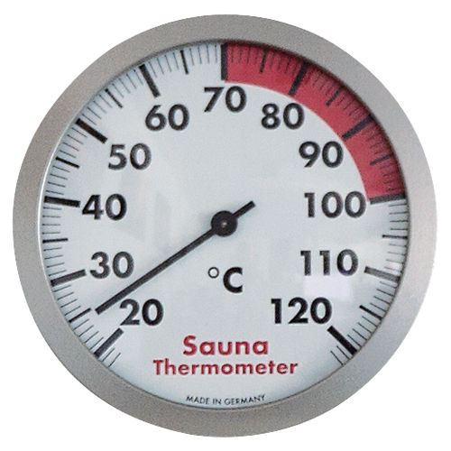 Sauna-Thermometer 120mm